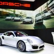 Постер, плакат: BANGKOK MARCH 29 : Porsche 911 TURBO S on display at Bangkok I