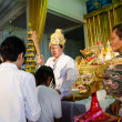 Постер, плакат: ChaChengSal THAILAND May 8 2014 : Unidentified Teachers and pu