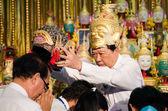 Chachengsal, thailand - maj 8 2014: oidentifierade lärare och pu — Stockfoto