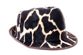 Giraffe pattern men hat  — Stockfoto