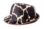 Giraffe pattern men hat  — Photo
