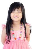 Portrait Of happy asian cute Girl — Stock Photo