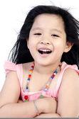 Portrait Of happy asian cute Girl — 图库照片