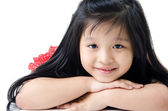 Portrait Of happy asian cute Girl — Foto Stock
