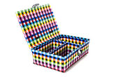 Hand craft plastic basket set — Stock Photo