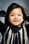 Portrait Of happy asian cute Girl — Stock Photo