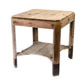 Dirty old wooden table — Stock Photo