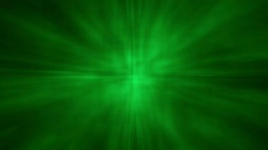 Abstract Aura Star Shine BG - Green — Stock Video