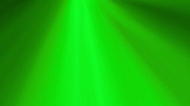 Green Rotating Soft Rays Background — Stock Video