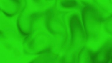 Green Smeared Satin Background — Stock Video