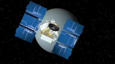 Uranus s'approche par satellite — Vidéo