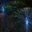Beautiful Firework — Stock Photo