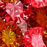 Gem seamless pattern. Ruby seamless pattern background. — Stock Photo