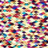 レトロなベクトルのシームレスなパターン. — ストックベクタ