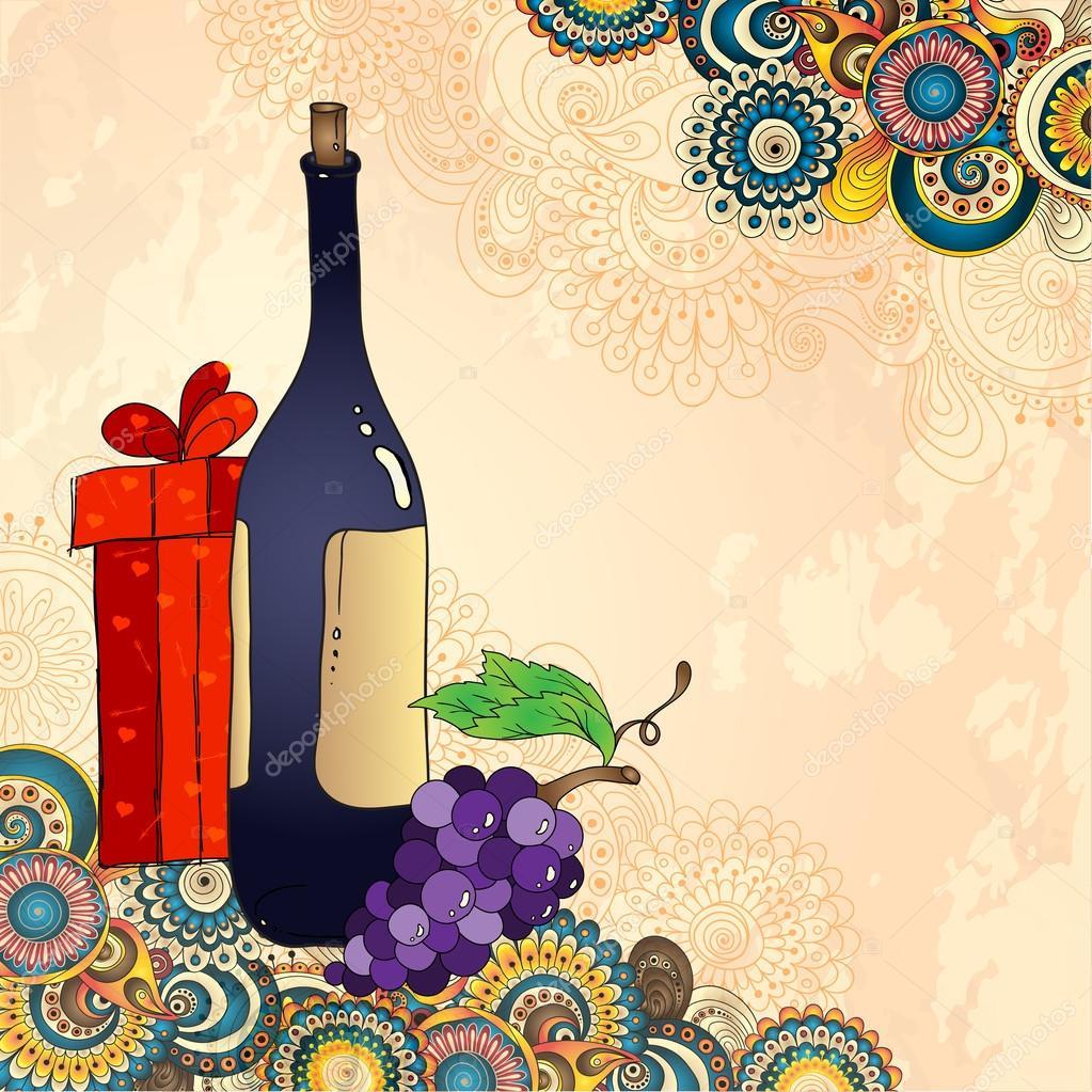 Нарисуй эскиз поздравительной открытки