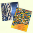 Unique Abstract Ethnic Pattern Card Set — Stock Vector #41871289