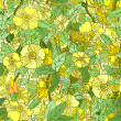 Abstract flower seamless pattern background — ストックベクター #41907675