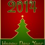 Happy New Year 2014 — Stock Vector #32408293