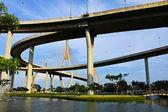 在曼谷,泰国工业圆桥 — 图库照片