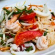 Thai spicy seafood salad. — Stock Photo