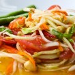 Thai papaysalad also known as Som Tum from Thailand. — Stock Photo #27307559