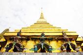 Guardian of Wat Pra Kaew Grand Palace ,Bangkok ,Thailand. — Stock Photo