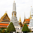 Grand Palace, the major tourism attraction in Bangkok, Thailand. — Stock Photo