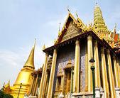 ват пхра кео туризм путешествия в бангкок, таиланд. — Стоковое фото