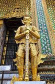 Mythical Giant Guardian (Yak) at Wat Phra Kaew, Thailand. — Stock Photo
