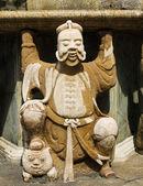 Statue of Man at Wat Pho in Bangkok, Thailand. — Stock Photo