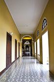Interior at museum — Stock Photo