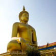 Big buddha statue at Wat muang, Thailand. — Stock Photo