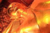 Liegender buddha-statue in thailand buddha tempel wat pho, asien — Stockfoto