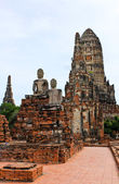 Wat Chaiwatthanaram Temple. Ayutthaya Historical Park, Thailand. — Stock Photo