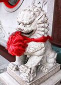 Chinese lion statue. — Stockfoto