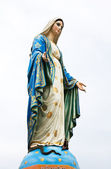 Virgin mary statue at Chantaburi province, Thailand. — Stock Photo