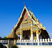 Beautiful Thai Temple , Bangkok,Thailand. — Stock Photo