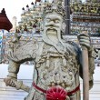 Statue in Wat Arun temple in Bangkok,Thailand. — Stock Photo