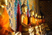 Buddha statue at Wat Arun Bangkok Thailand. — Stock Photo