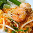 Stock Photo: Thai food, stir-fried rice noodles (Pad Thai).
