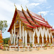Wat Chalong or Chaitharam Temple in Phuket, Thailand. — Stock Photo