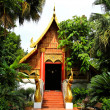 Buddhist temple named Wat PhrKaew in Chiangrai province of Tha — Stock Photo #27664613