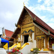 Buddhist temple named Wat PhrSingh in Chiangrai province of Th — Stock Photo #27665289