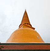 Phra Pathom Chedi, the tallest stupa in the world. It is located — Stock Photo