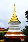 Thai stupa in Temple, Chiang Rai province, Thailand — Stock Photo