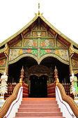 Wat ming muang chiangrai ili, th adlı budist tapınağı — Stok fotoğraf