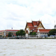 Stock Photo: Chao Phrayriver in Bangkok, Thailand