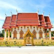 Thailand Temple on blue sky — Stockfoto