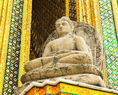 Buddha sculpture at Royal Palace, Bangkok,Thailand — Stock Photo