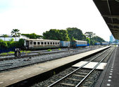 An image of the Thonburi train station in Thailand. — Stock Photo
